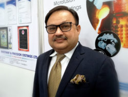 Piyush I. Tamboli, Managing Director, Investment & Precision Castings LTD, Bhavnagar Gujarat, Indien